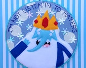 Adventure Time--Ice King Embroidery 9 inches
