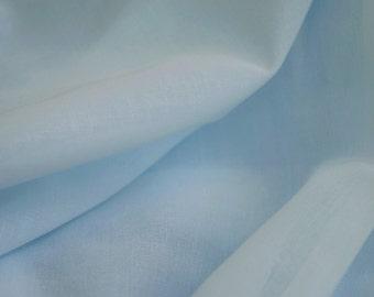 Blue Swiss Voile Cotton