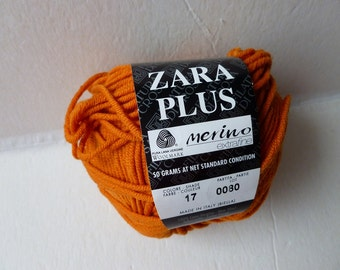 Yarn Sale  -  Orange 413 Zara Plus Filatura Di Crosa Yarn