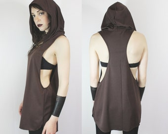 The Witching Hour tunic tank in Earth