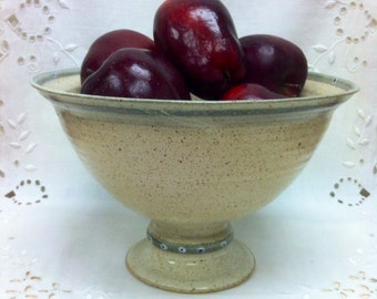 Footed Bowl -- Great Wedding Gift!