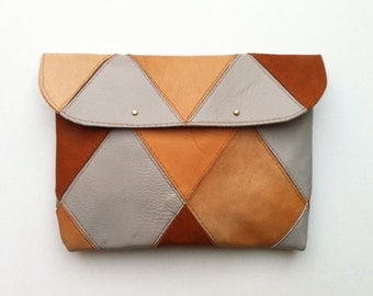 20% DISCOUNT // Patchwork Clutch // Was 59 Euros Now 47 Euros
