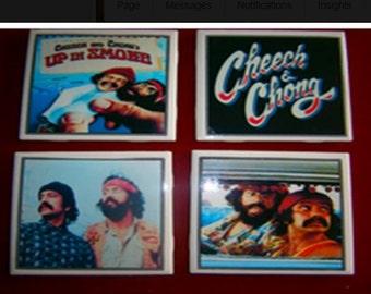 Cheech and Chong Coasters