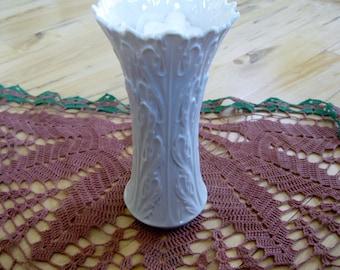 Lenox Ivory Woodland Vase 8.5 inches MINT
