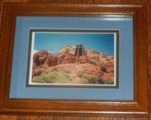 Sedona Arizona Church in the Rocks, Original photography, Chapel of the Holy Cross,  Film photography