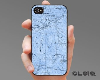 Vintage Alta Utah Map iPhone Case for iPhone 6, iPhone 6Plus, iPhone 5/5s, iPhone 5c, iPhone 4/4s, Samsung Galaxy S5, Galaxy S4, Galaxy S3