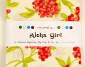 Aloha Girl Charm Pack by Fig Tree & Co. for Moda