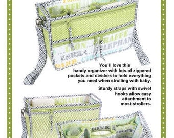 PRECIOUS CARGO STROLLER Organizer from Patterns by Annie