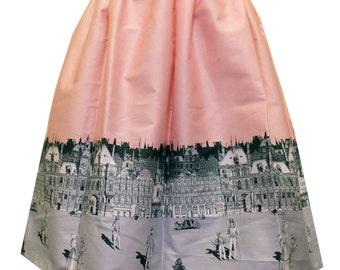 English Regency Border Full Skirt