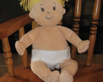 DOLL Diaper-Handmade-Diaper fits Baby Stella, Pottery Barn Doll other dolls-Great for pretend play