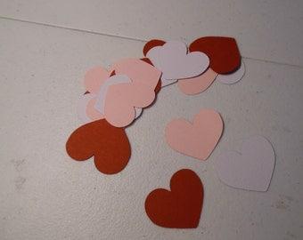 Valentine Confetti- Valentine Party Confetti-  Heart Confetti- Wedding Confetti