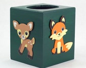 Woodland Theme Tissue Box Holder