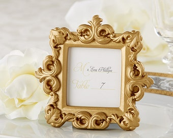 Gold Placecard Holders (Set of 12); Gold Placecard Frames; Wedding placecards; Gold Wedding Decoration