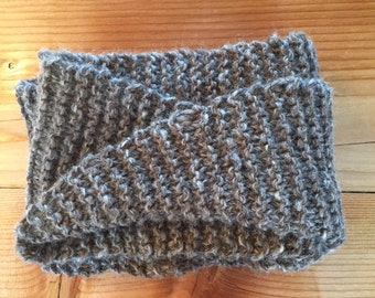 One of a kind infinity scarf. Farm blend. Ready to ship!