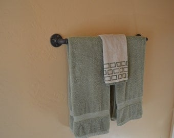 Industrial Towel Rack