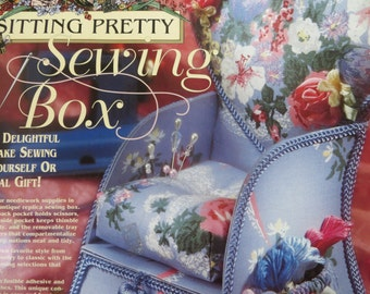 Chair Sewing Box Kit by Daisy Kingdom