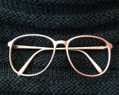 Colourline Rose nerdy eyeglasses frames vintage 1980's made in Japan