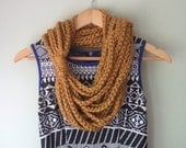 Honey Gold Scarf . Mid Le...