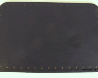 PU handbag bottom Black HB006