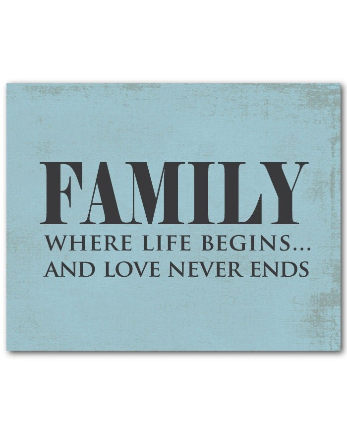 Family where life begins...and love never by ...