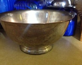 Vintage Centerpiece Bowl Webster & Wilcox IS International Silver Co.