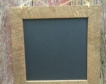 Rustic Chalkboard Reclaimed Barnwood