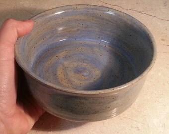 Custom Stoneware Dog or Cat Water or Food Dish - Pet Feeding Bowl - SPARTAN