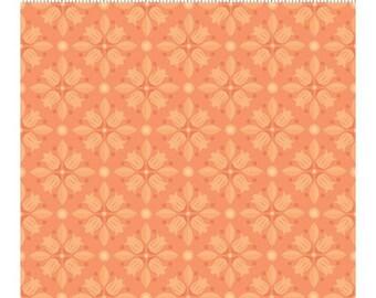 Clothworks Blossom Bliss Orange Tone on Tone Yardage - REDUCED