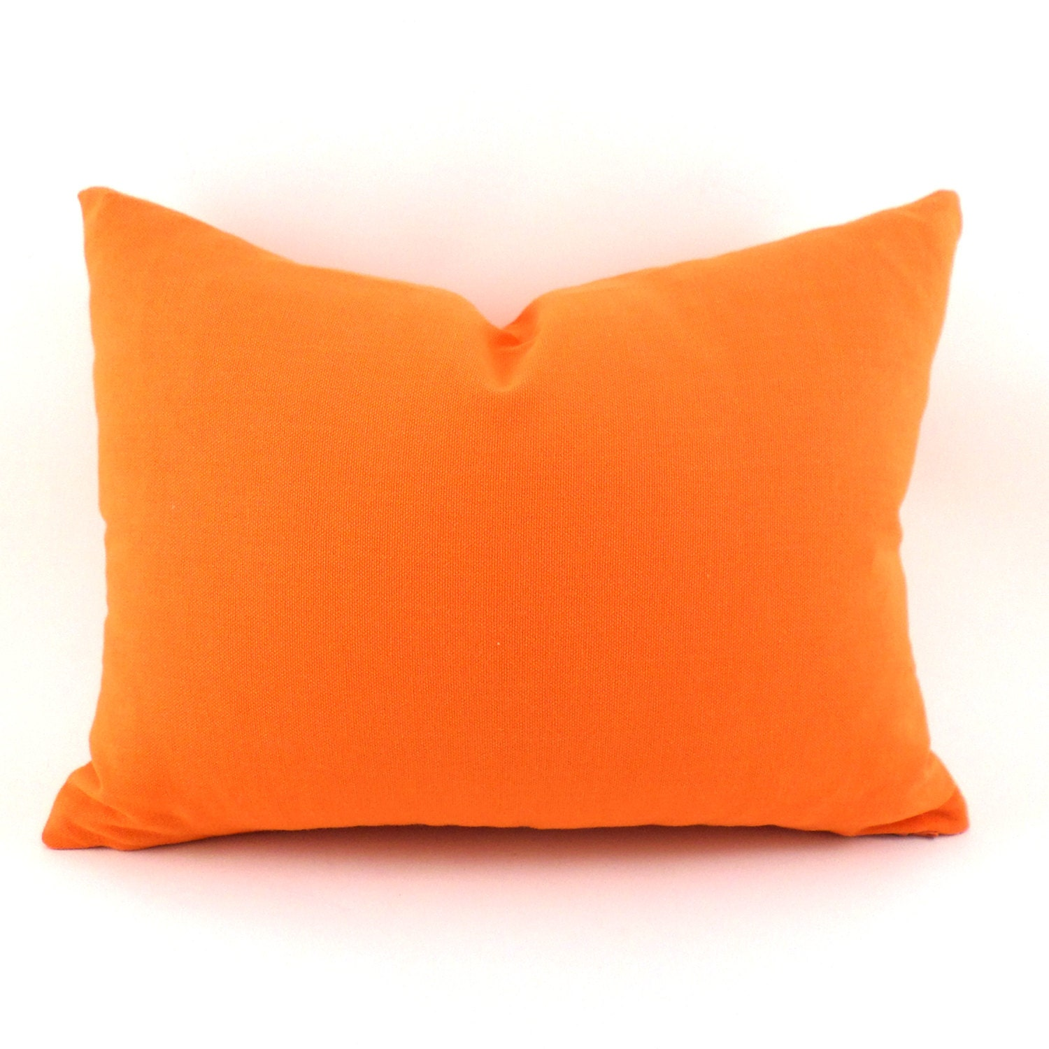 Decorative Orange Lumbar Pillow : Orange Lumbar Pillow Cover ANY SIZE Decorative Pillow Cover