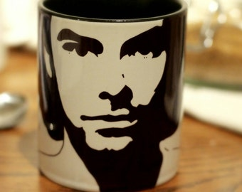 Aidan Turner, , Being Human, Kili, The Hobbit, The Mortal Instruments, Hand Printed Mug