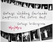 Wedding Garland, Wedding Day, Bridal Shower Decor, Wedding Decor, Wedding Shower, Rehearsal Dinner, Bride and Groom, Mr and Mrs, Weddings