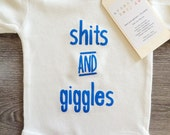 Sh*ts & Giggles Baby, Boy, Girl, Unisex, Infant, Toddler, Newborn, Organic, Fair Trade, Bodysuit, Outfit, One Piece, Onesie®, Onsie®, Shirt