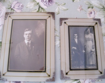 2 Old photo frames
