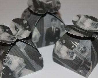 Personalised- Photo- Favour- Boxes- Wedding- Favour Boxes- Table Favours- Party- Favor- Bridal Gift- Medusa Bijoux
