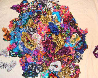 Scrunchie made from spandex to match, this listing is for 1 scrunchie