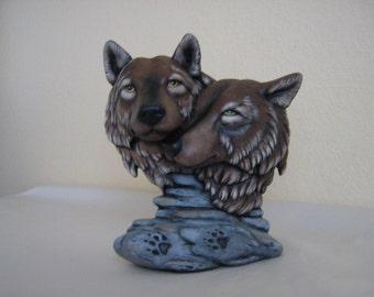 Ceramic Wolf