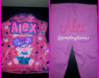 Abby Cadabby, Photo, Birthday, 1st Birthday Elmo Outfit, Abby Cadabby Tutu Outfit, 1st Birthday Abby, Sesame Street Birthday