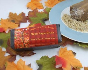 Maple Sugar Bricks - 8 oz