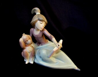 Lladro A Lesson Shared No.5475