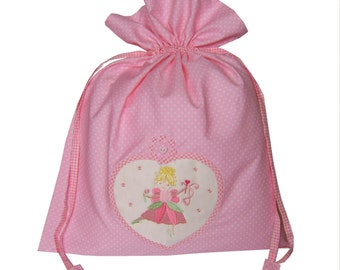 Fairy Pink Laundry Bag