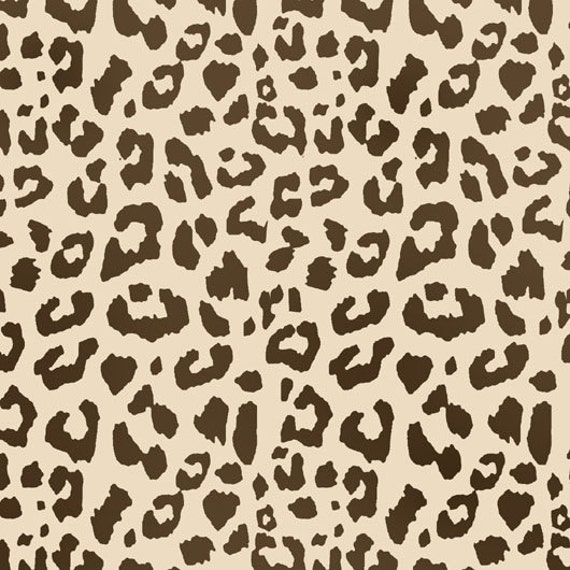 Leopardenmuster Wand Selber Malen : Leopard print pattern stencil, home decorating craft stencil, paint