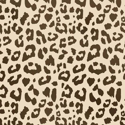 Leopardo patr n impresi n stencil hogar decoraci n arte for Decoracion hogar leopardo