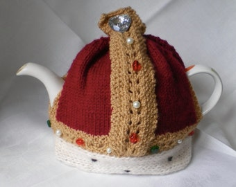 Knitting Pattern For Union Jack Tea Cosy : Knitted Union Jack egg cosy pattern PDF