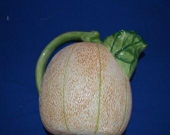 ON SALE  Pitcher That Looks Like a Cantaloupe