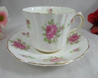 1930s Old Royal English Bone China Teacup English Teacup and Saucer - Charming Tea Cup