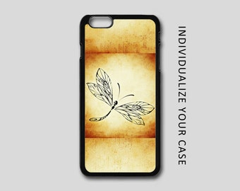 Dragonfly iPhone Case, Artistic iPhone Case, Dragonfly Samsung Galaxy Case, iPhone 6, iPhone 5, iPhone 4, Galaxy S4, Galaxy S5, Galaxy S6