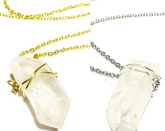 Crystal (Quartz) Necklace