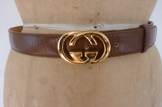 Belt Vintage Vintage Gucci Belt Brown