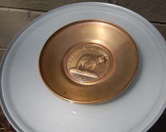 Yellowstone Park Commemorative Plate