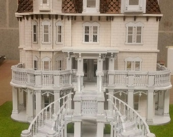 Hegeler Carus Mansion 1:48 scale Dollhouse